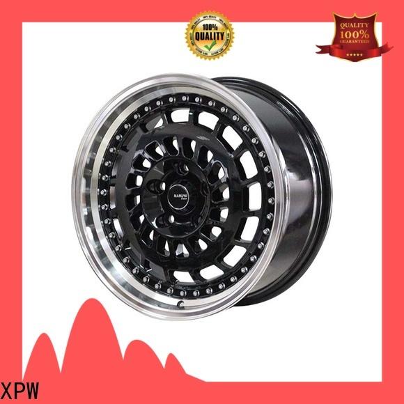 XPW matte black 17 inch silverado rims wholesale for cars