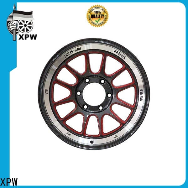 XPW silver black 18 inch wheels supplier for cars