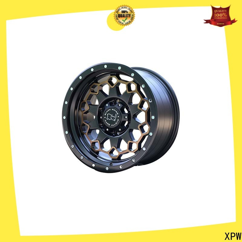 professional mb suv rims black with bronze face wholesale for vehicle