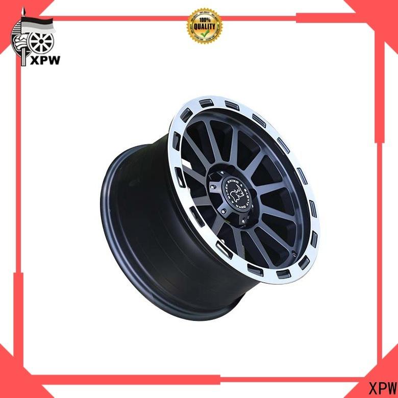 XPW professional black suv rims wholesale for vehicle