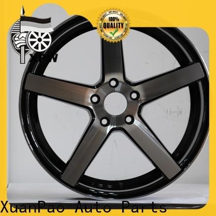 XPW matte black audi 17 inch rims wholesale for Toyota