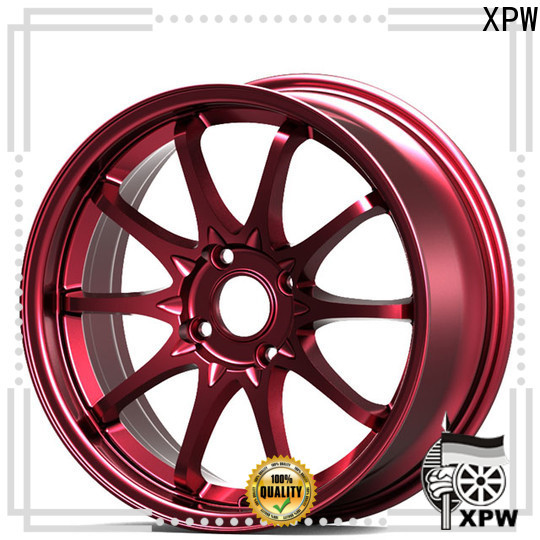 XPW white car alloy wheels 15 inch manufacturing for Honda series