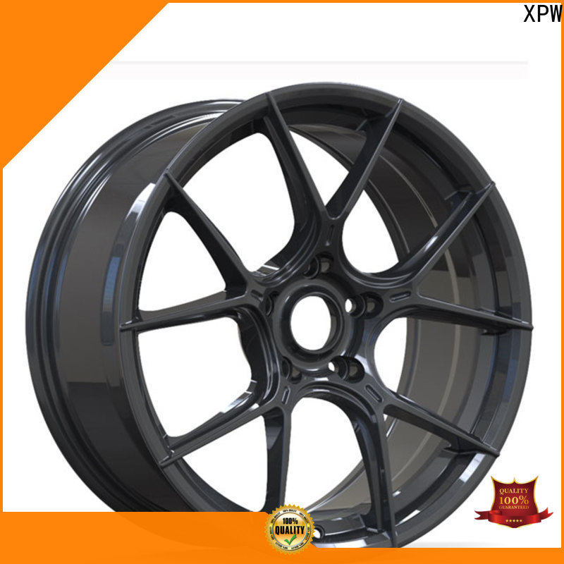 durable black 18 wheels wide sides supplier for vehicle