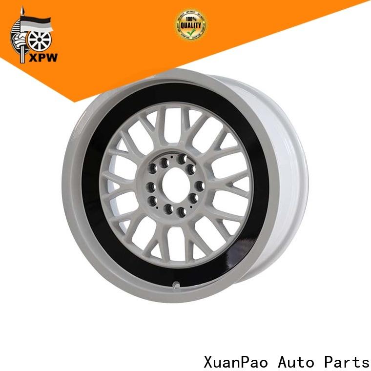 XPW custom black truck rims design for Toyota
