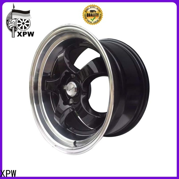 XPW high quality black truck wheels design for cars