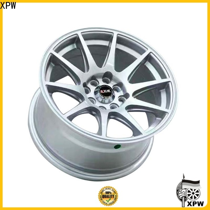 high quality alloy wheel manufacturer black wholesale for cars