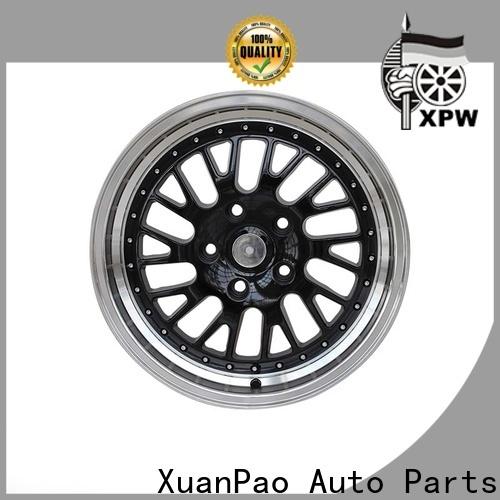 custom 16 inch aluminum wheels novel design OEM for Toyota