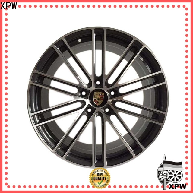 high quality 19 porsche wheels alloy design for