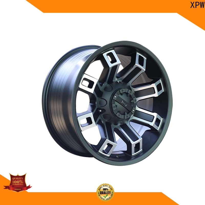XPW custom black suv wheels design for SUV cars