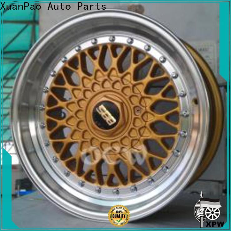 cost-efficient custom wheel rims low-pressure casting manufacturing for Honda