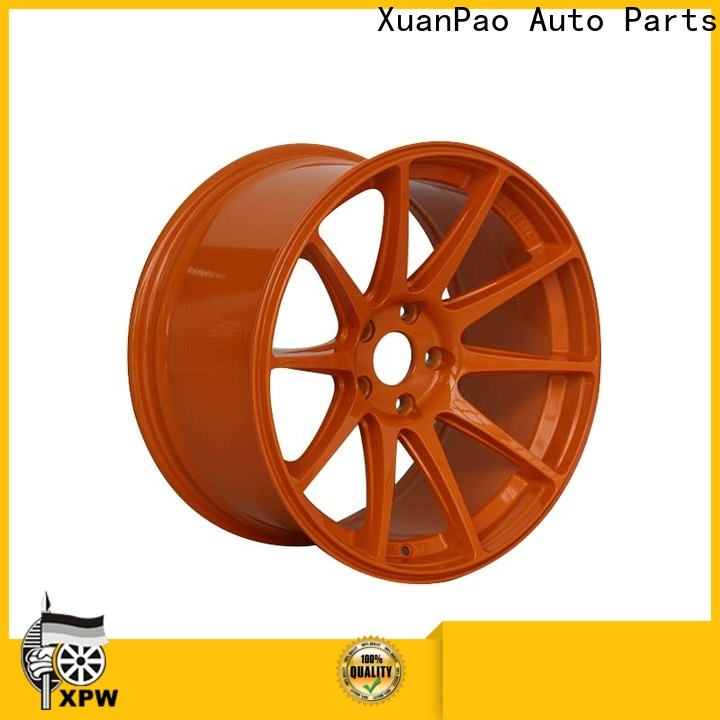reliable 18 inch rims aluminum supplier for Toyota