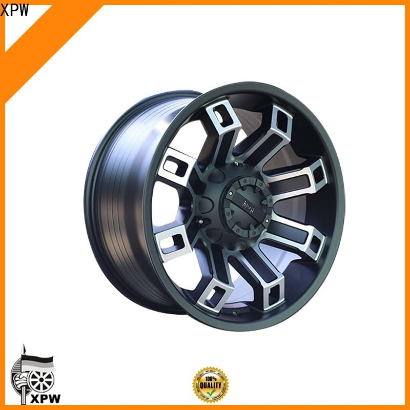 XPW effcient best rims for suv manufacturing for cars