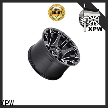 XPW effcient black chrome rims for suv wholesale for SUV cars