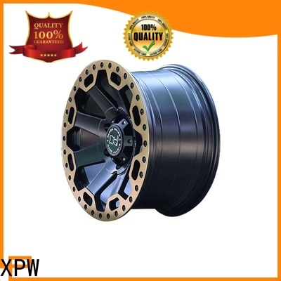 XPW black with bronze face 16 suv rims manufacturing for vehicle