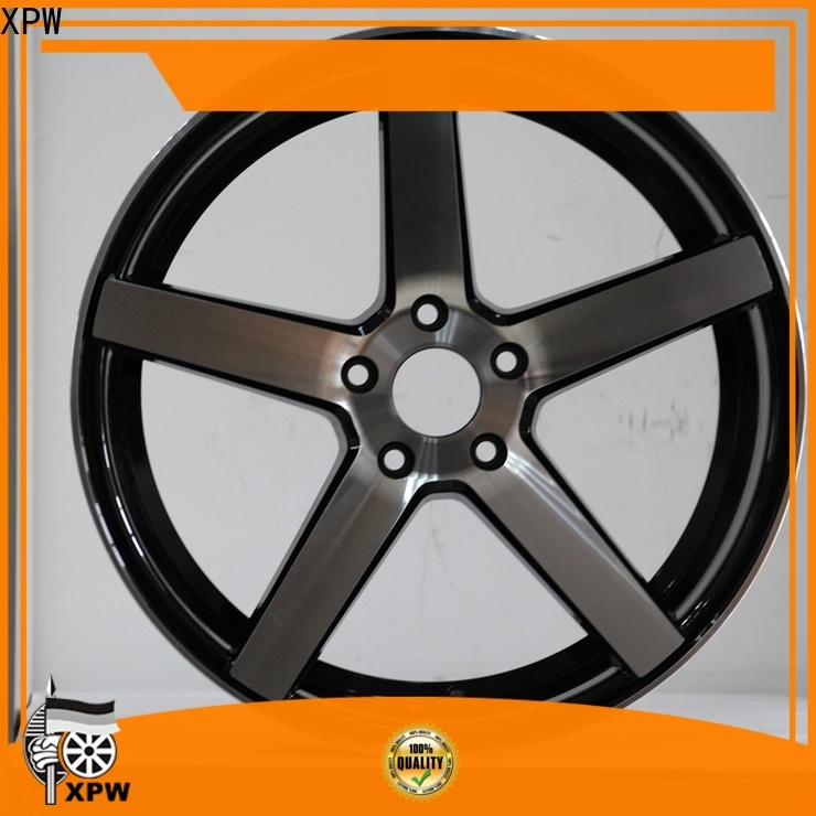 XPW high quality 15 inch black rims wholesale for Toyota