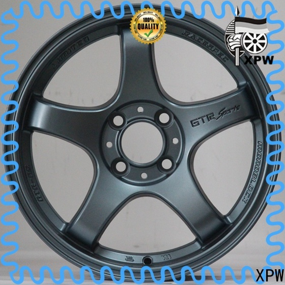 XPW professional 15 inch rims 4x100 manufacturing for Honda series