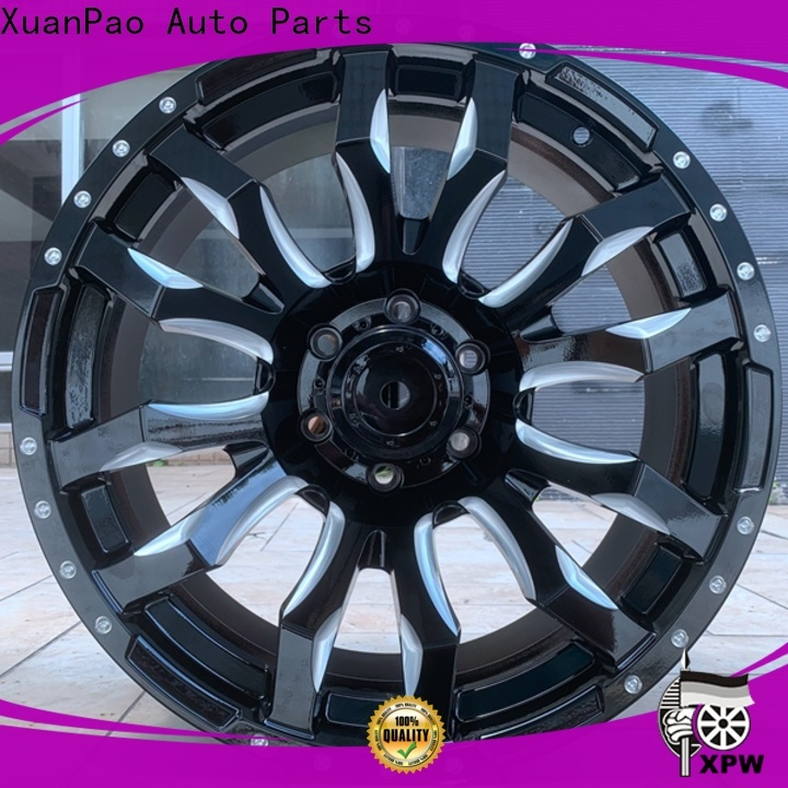 XPW fashion blue 20 inch rims manufacturing for turcks