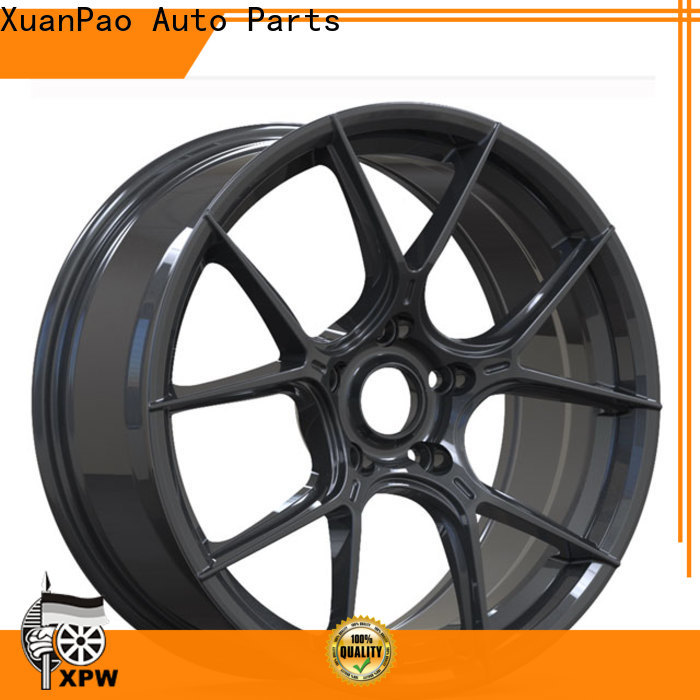 durable black alloy wheels 18 aluminum supplier for vehicle