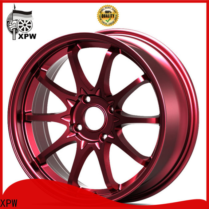durable r18 rims wide sides manufacturing for Honda series