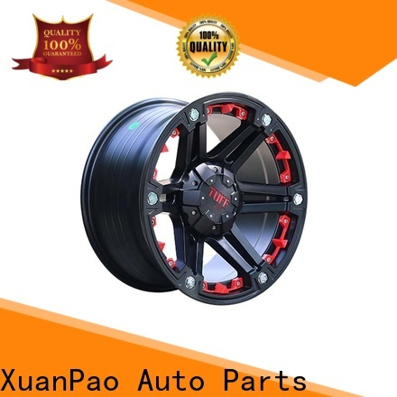 professional suv wheels and rims black with bronze face wholesale for SUV cars