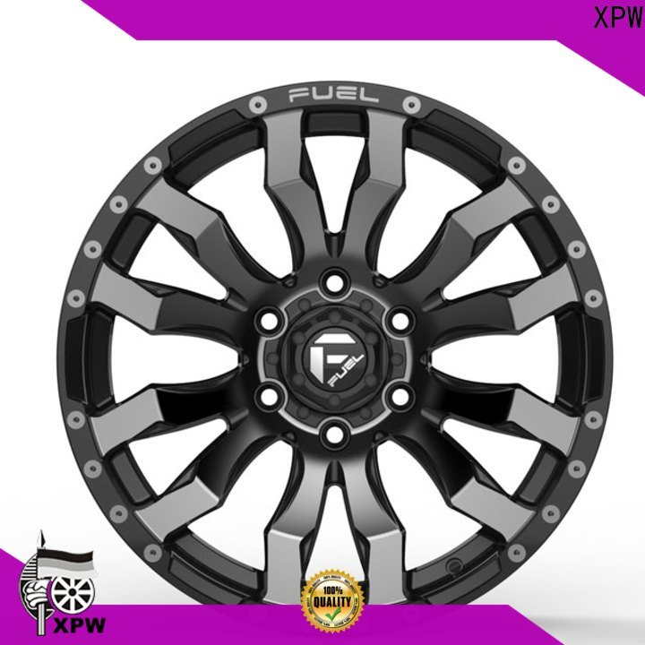 durable 20 inch suv rims black with bronze face manufacturing for SUV cars