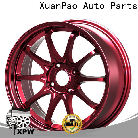 XPW matte black 17 aluminum wheels OEM for Toyota