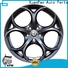 hot selling 5 spoke rims 18 inch silver supplier for vehicle