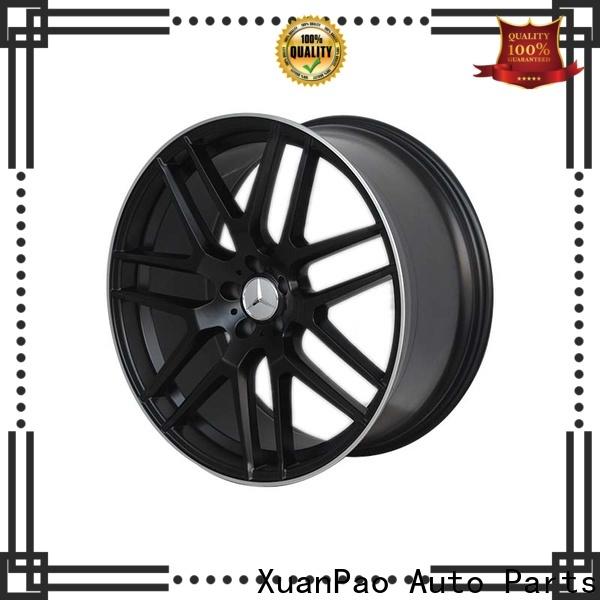 XPW matte black mercedes amg wheels supplier for Benz car series