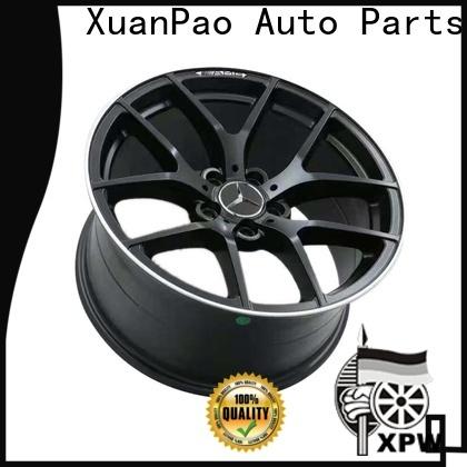 XPW matte black mercedes amg rims 18 supplier for mercedes