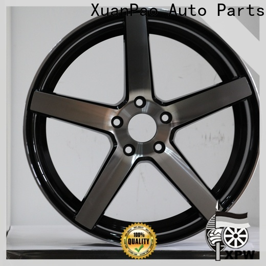 high quality 16 wheels for sale black design for vehicle