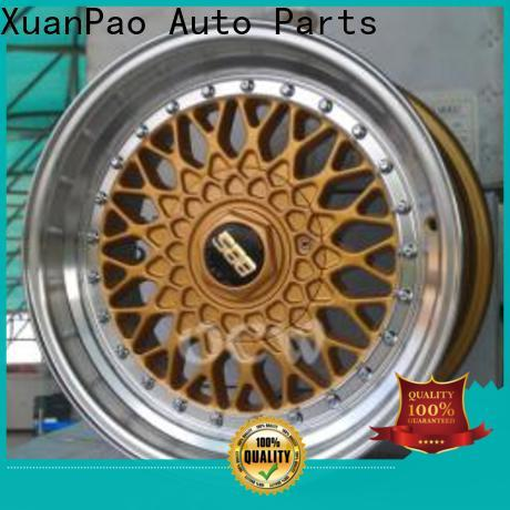 XPW novel design with beautiful shape 15 inch alloy wheels black wholesale for cars