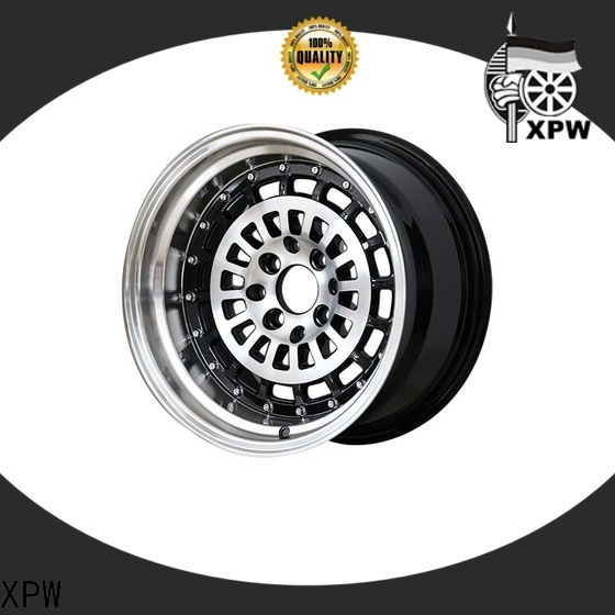 professional 15 inch custom wheels black wholesale for Toyota