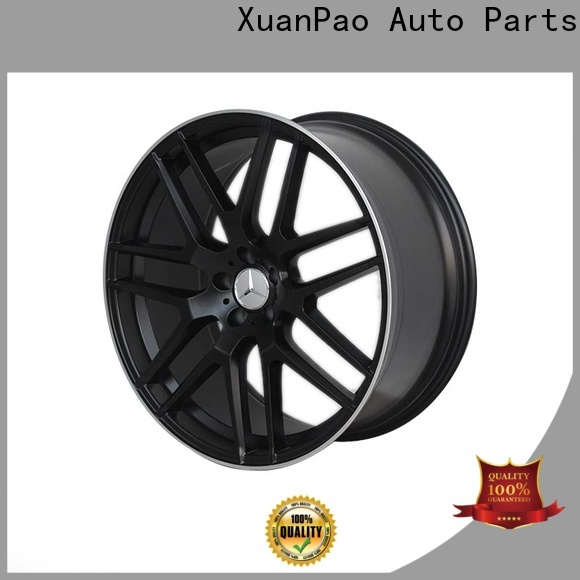 XPW matte black mercedes 19 inch alloys manufacturing for cars
