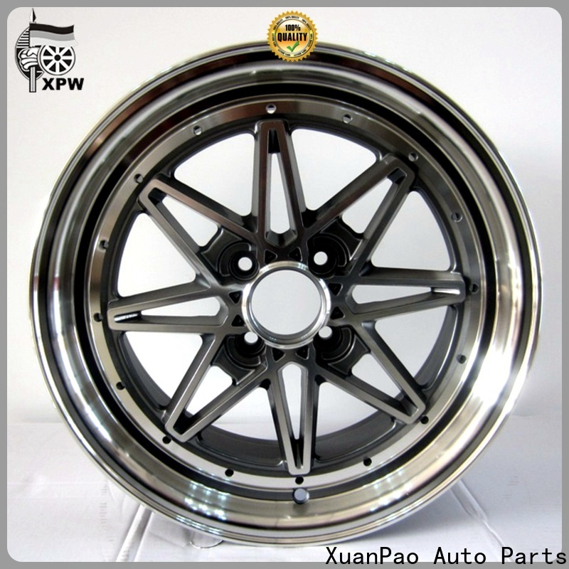 professional wholesale wheels black design for Toyota
