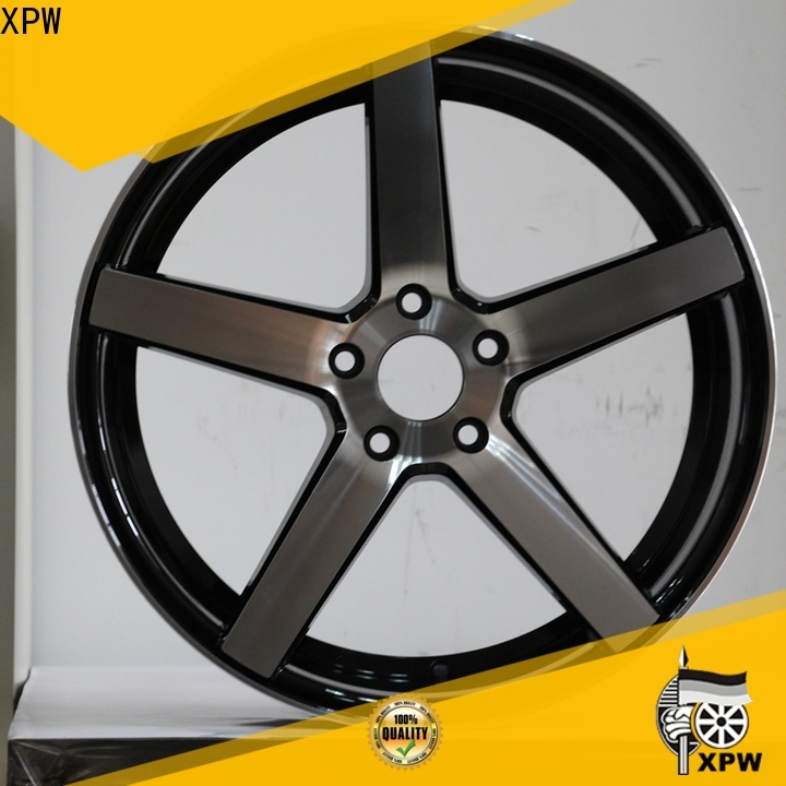 XPW alloy cheap rims online manufacturing for Toyota