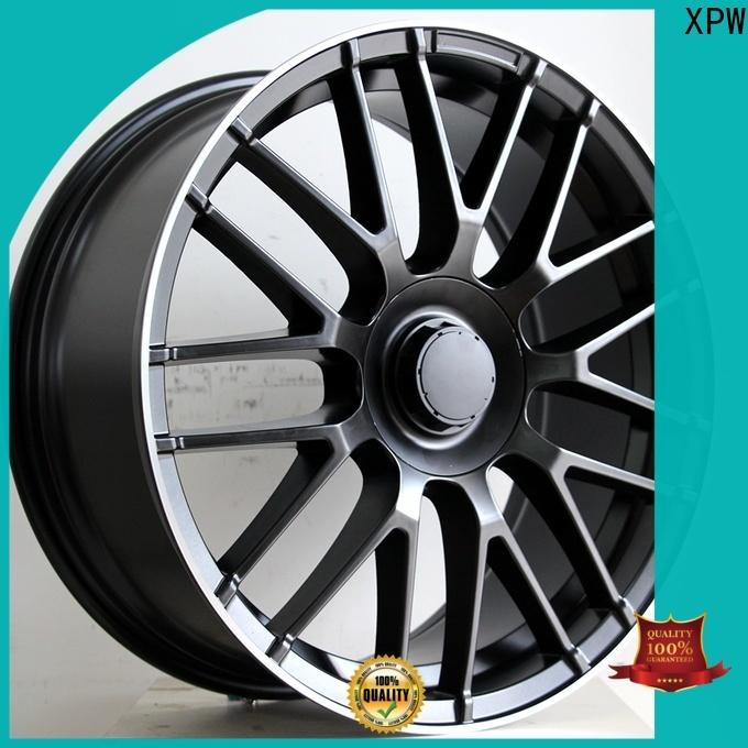XPW matte black mercedes alloys for sale manufacturing for mercedes