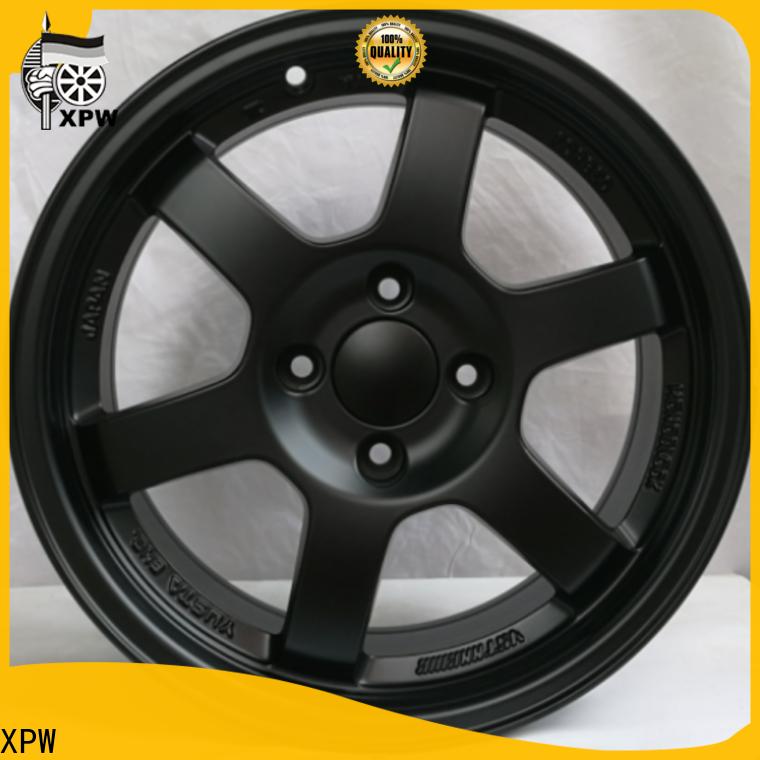 XPW black 15 inch steel rims design for cars