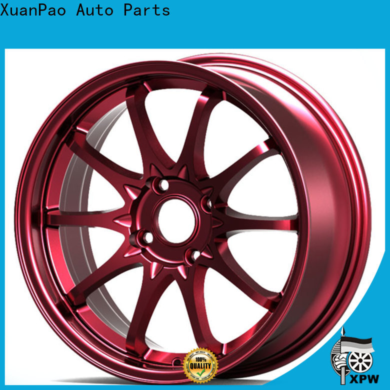 high quality 15 drag wheels black wholesale for Toyota