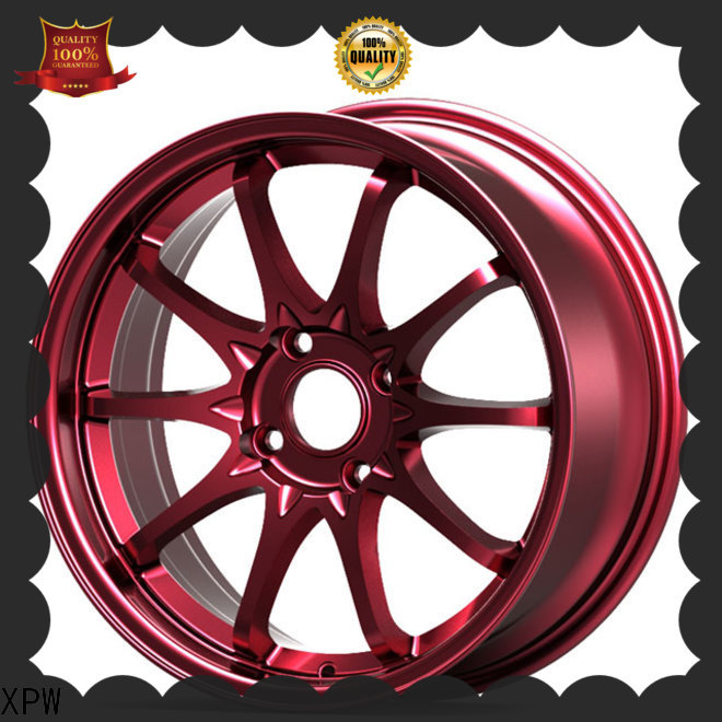 XPW durable black alloy wheels manufacturing for Toyota