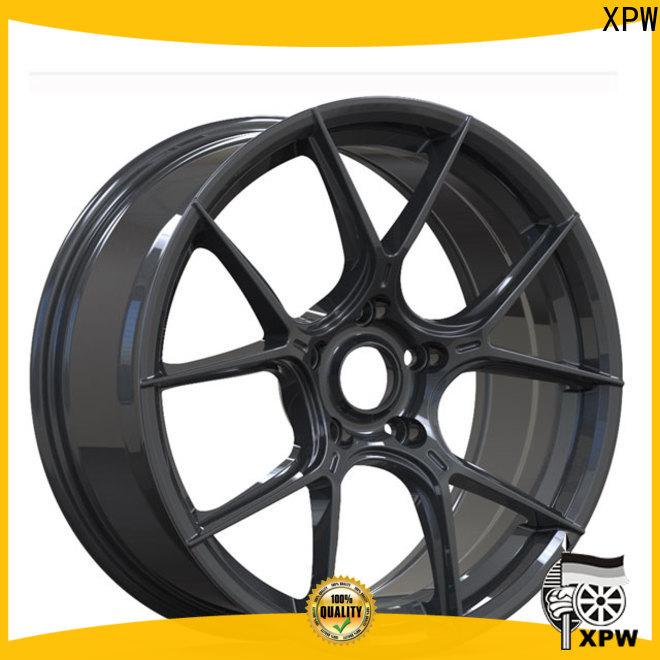XPW matt black 18 inch white wheels OEM for vehicle