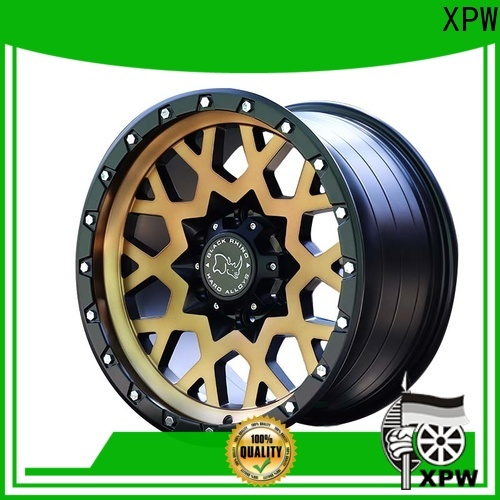 XPW aluminum suv wheels and rims design for SUV cars