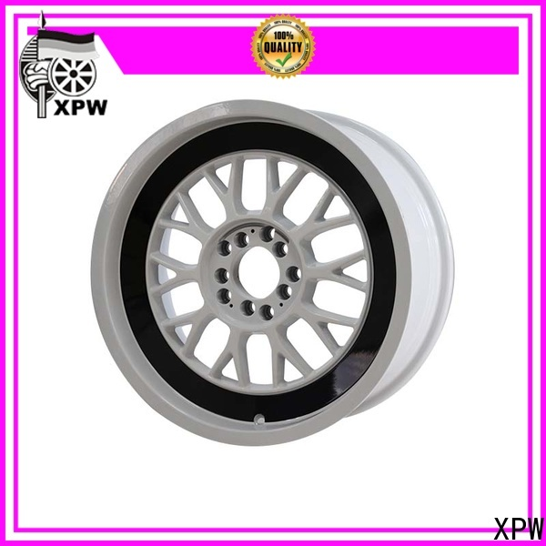 XPW long lasting 15 inch black alloys wholesale for Honda series
