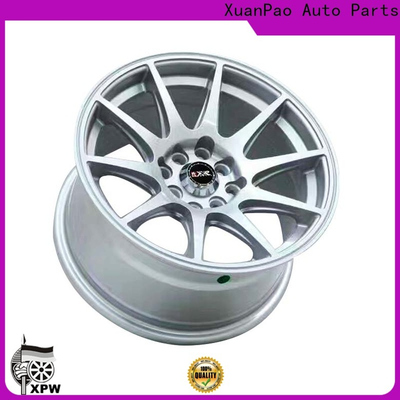 custom 15 inch alloy wheels 4 stud white wholesale for Honda series