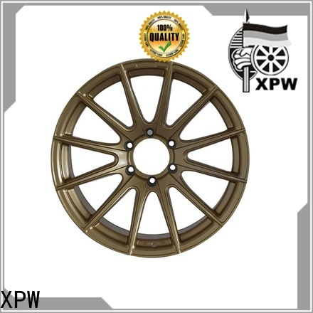 XPW silver 18 gold rims OEM for Toyota