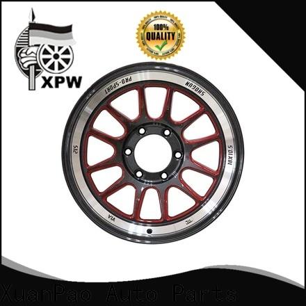 XPW alloy black rims 18 supplier for Honda series
