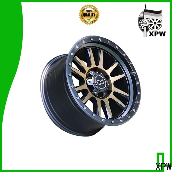 custom black chrome rims for suv aluminum manufacturing for vehicle