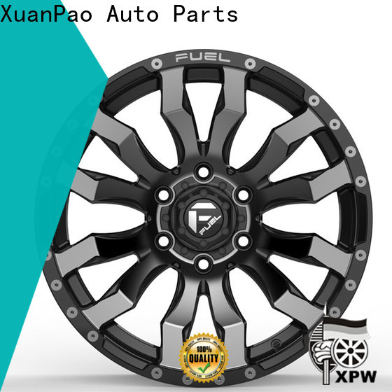 XPW black 15x8 steel wheels wholesale for Honda series