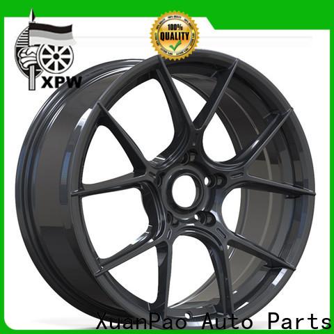 reliable 18 black rims aluminum manufacturing for cars