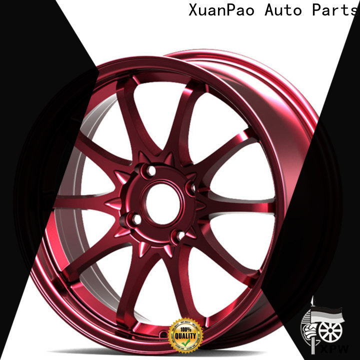 XPW durable custom rims and tires design for vehicle
