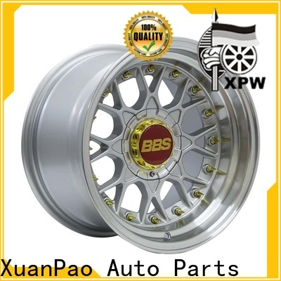 professional 15 inch alloy wheels 4 stud novel design with beautiful shape manufacturing for Honda series